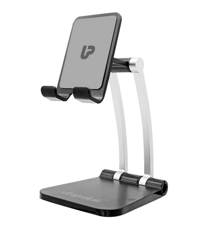 UltraProlink UM1030 Table Top Stand for Tablets & Smartphones Multi-Angle,Portable & Universal Phone Holder