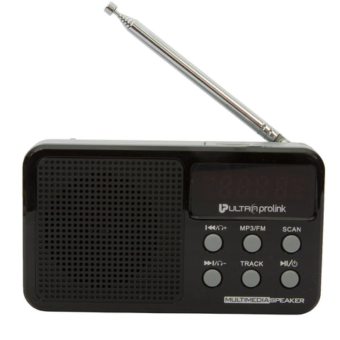 Retro Multimedia Speaker UM0017 (Black)