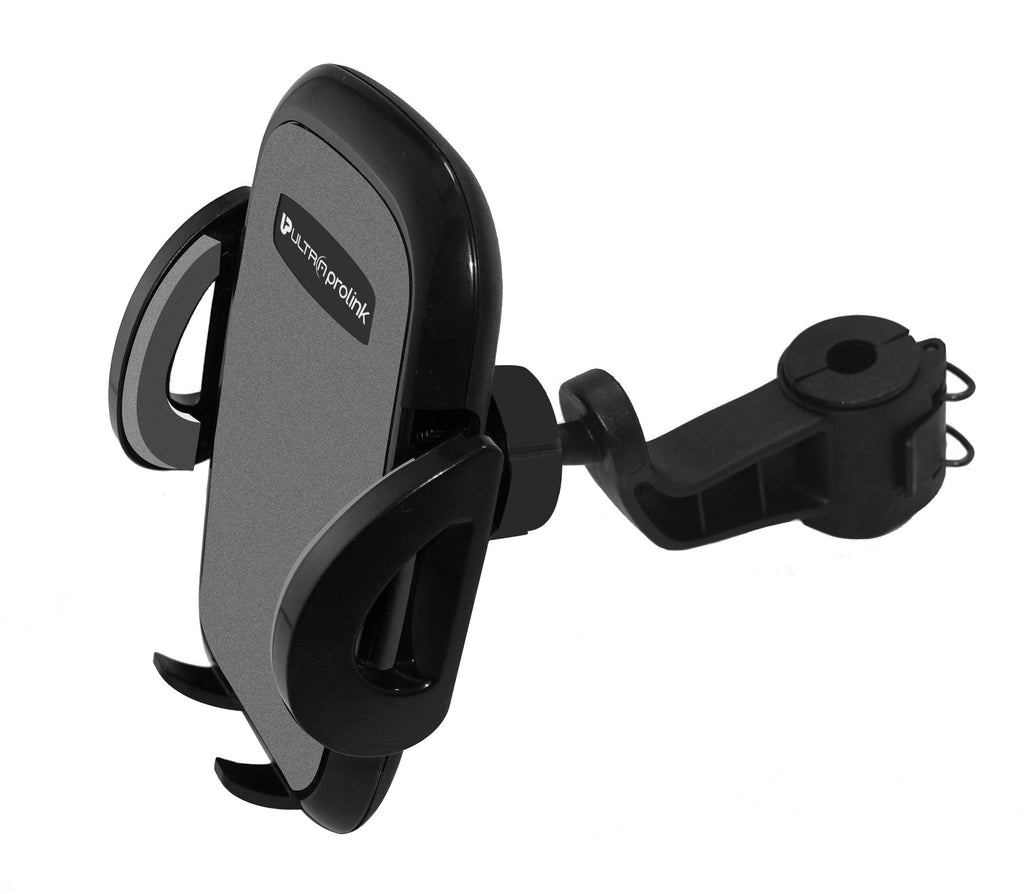 UltraProlink UM0087 Headrest 360-degree adjustable holder Car Mount for all Smartphones (Grey)