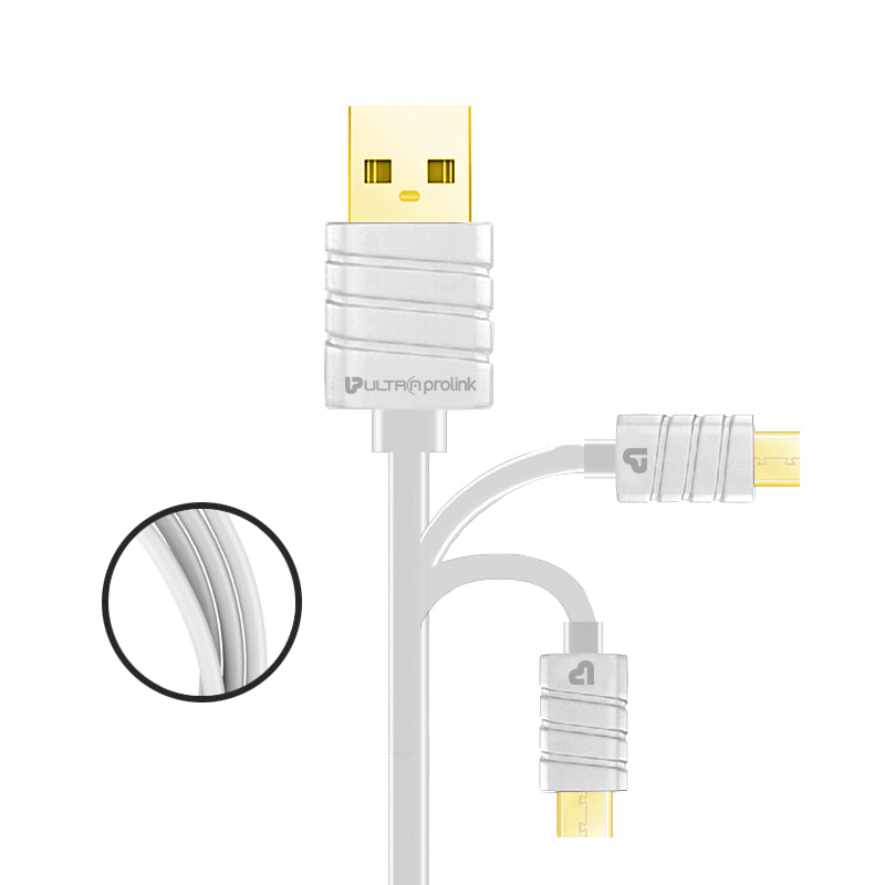 Zap Micro Syn & Charge Cable 1.5m UL0043-0150 (White)