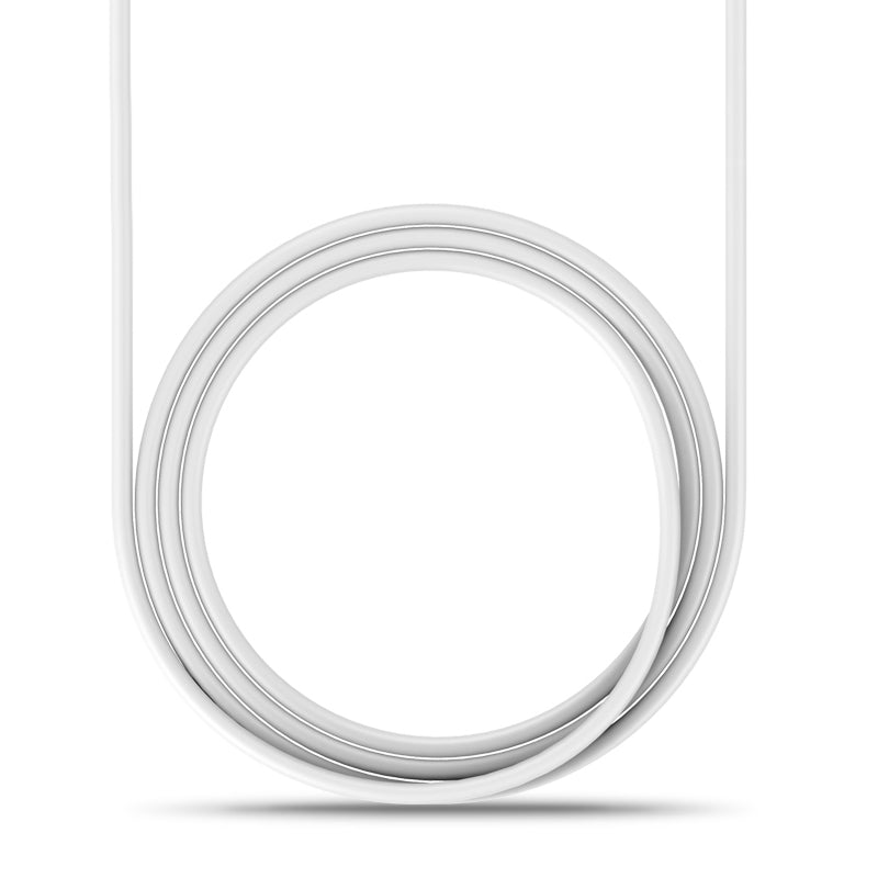 UltraProlink UL0059 Zap USB Type C Data & Fast Charging Cable for One plus, Huawei, Samsung, Oppo, Vivo, Xiaomi, Redmi, Realme & other Android Phones- 1.5m Long (White)