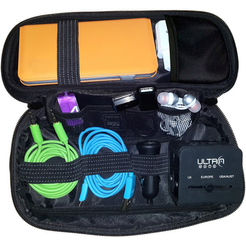 UltraProlink Transit UM0020 Gadget & Accessories Organizer cum Kit & Travel Pouch for Passport, Money, Cosmetics & Toiletries