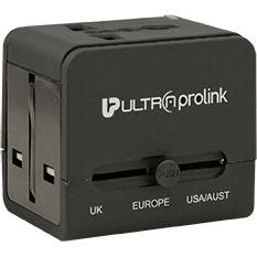 World Travel Charger with Dual USB 2.1A /10W UM004B