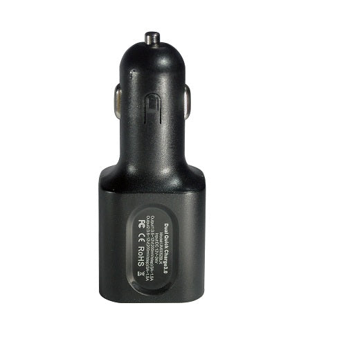 TORQUE 6A/30W Qualcomm Dual USB Quick Charge 3.0 Car Charger UM0052