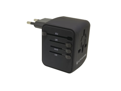 Pro-Traveller Adapter 4 USB UM0072 (Black)