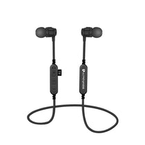 UltraProlink UM0083 Clef In Ear Wireless Bluetooth Earphones with Micro SD Card Slot & Mic for Mobile Smartphones (Black)