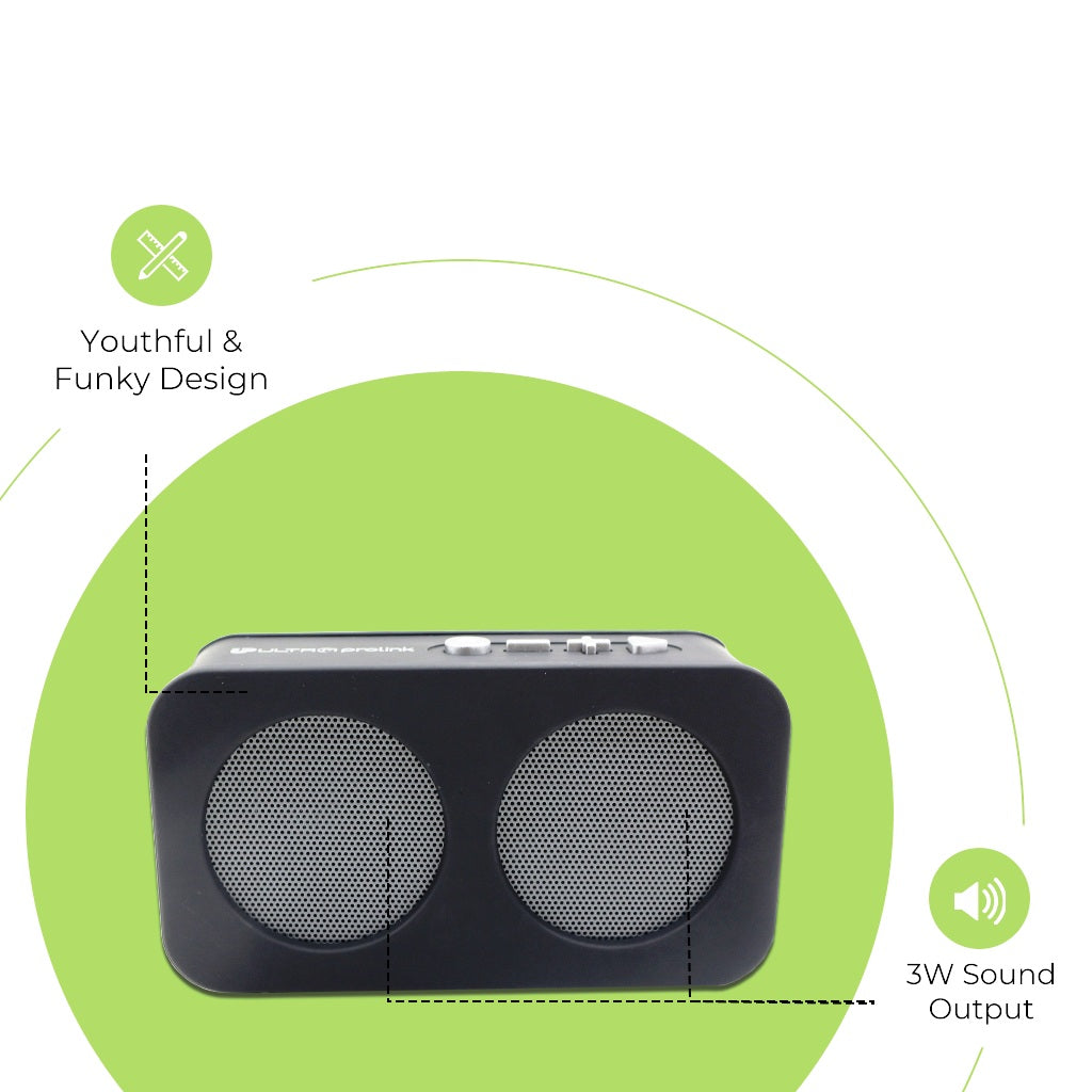 Hi- Q Junior Wireless Multimedia Speaker UM0096 (Grey)