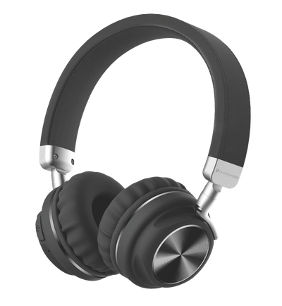 Bluetooth Wireless Headphones with Memory Card, Aux Input & 10 Hour Playtime UM100
