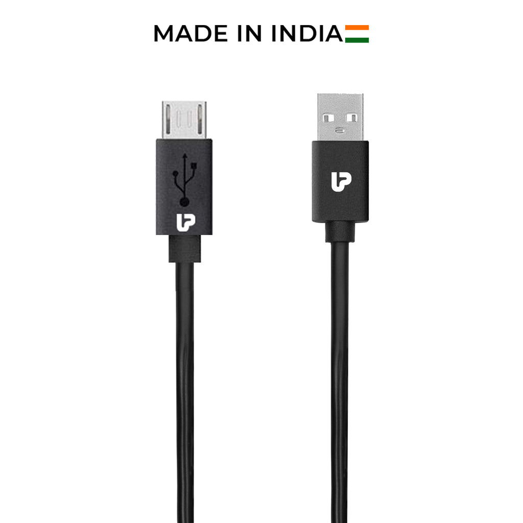 UPL by UltraProlink UPL0001 VoLo Micro USB Data & Fast Charging Cable 1m for Nokia, Samsung, Oppo, Vivo, Xiaomi, Redmi, Realme & other Android Phones (Black)