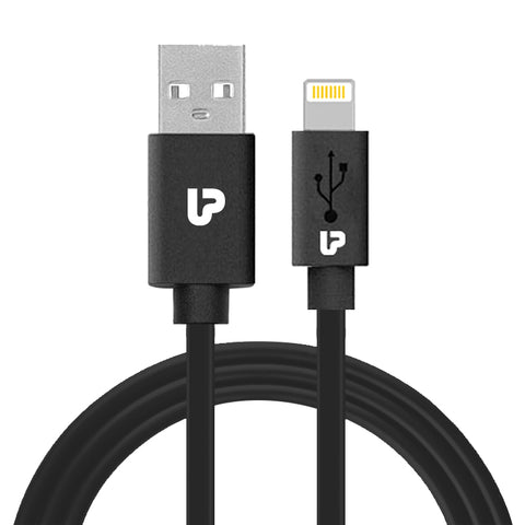 UPL by UltraProlink UPL0003 VoLo-L Fast Charging USB Cable compatible with iPhone 11 Pro & Max,iPhone 11,iPhoneXS Max,iPhoneXS, iPhoneXR,iPhoneX,iPhone 8 & 8 Plus,Phone 7,iPhone 6,iPhone 5,iPad Pro,iPad mini & iPod touch 1.0m Long(Black)