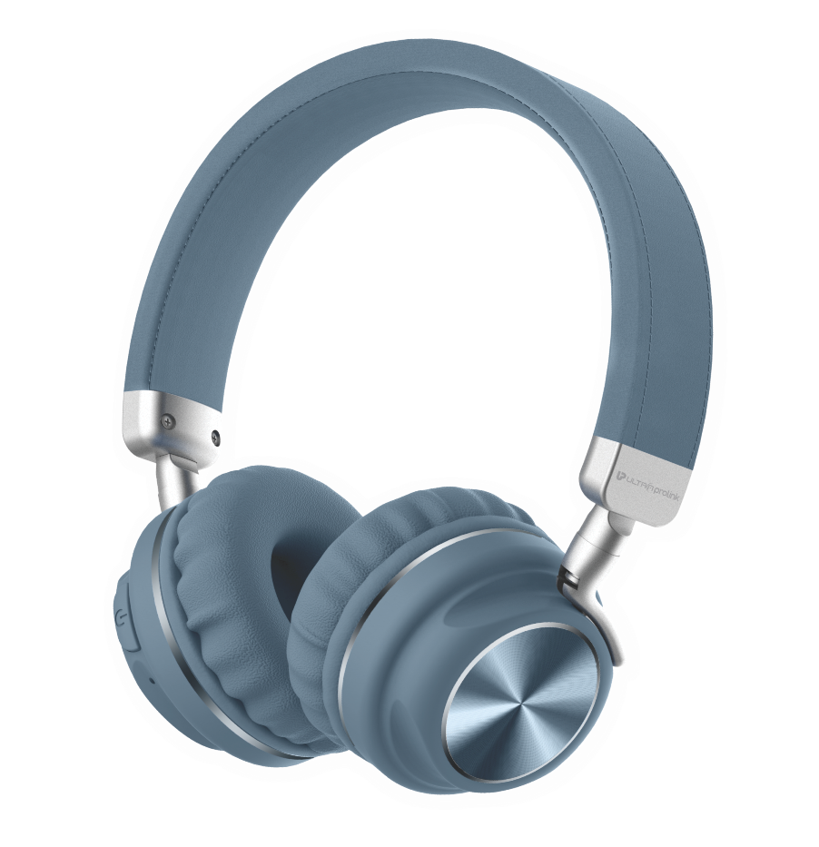 UltraProlink UM100 Bluetooth Wireless Headphones with Memory Card, Aux Input & 10 Hour Playtime