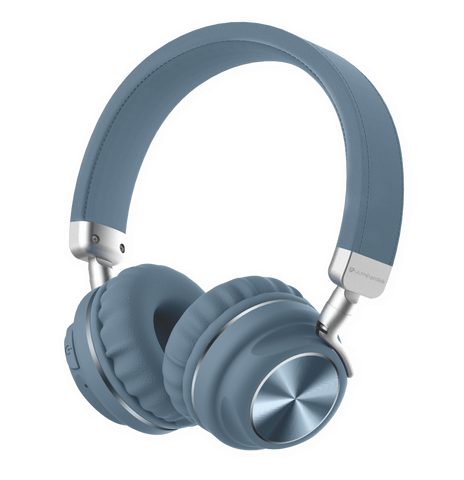 Bluetooth Wireless Headphones with Memory Card, Aux Input & 10 Hour Playtime UM100 (Grey)