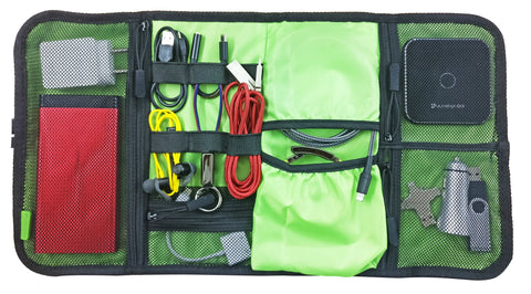 UltraProlink Transit  UM0090-  Gadget & Accessories Organizer cum Kit & Travel Pouch for Passport, Money, Cosmetics & Toiletries