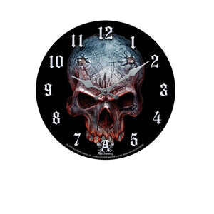 Birth of a Demon Clock - Gothic Curios