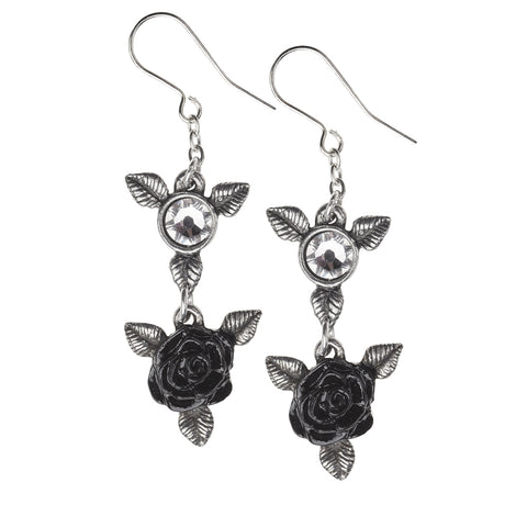 Ring 'O Roses Earrings - Gothic Curios
