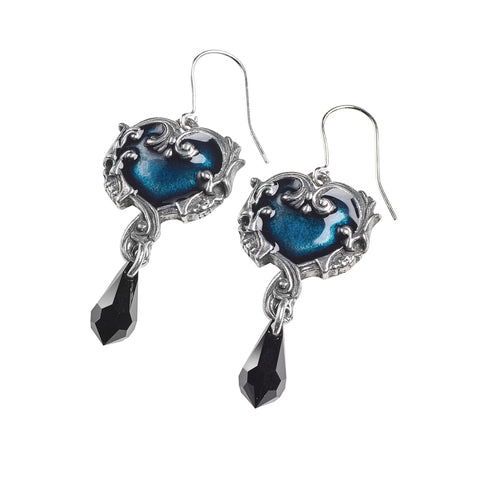 Affaire Du Coeur Earrings - Gothic Curios