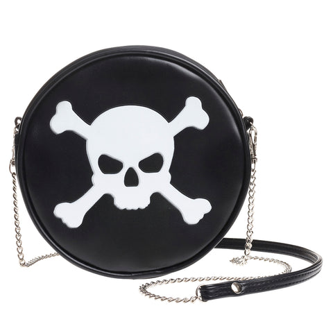 Skull & Cross Bones Bag - Gothic Curios