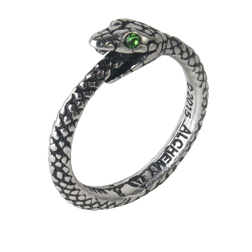 The Sophia Serpent Ring - Gothic Curios
