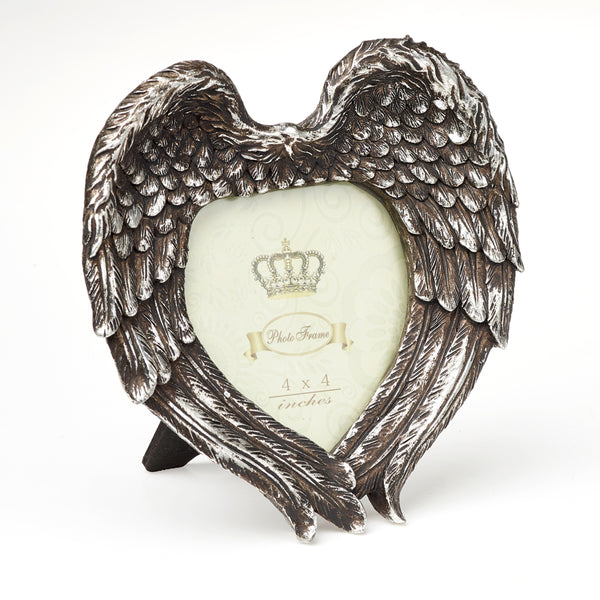 Winged Heart Photo Frame - Gothic Curios