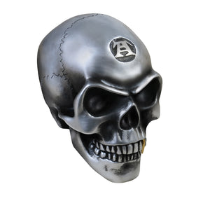Large Metalized Colored Skull - Gothic Curios