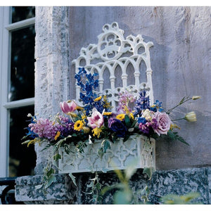 CAST IRON GOTHIC REVIVAL FLOWER BOX NR - Gothic Curios