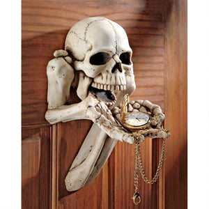 BEGGER FOR SOULS SKELETON PLAQUE - Gothic Curios