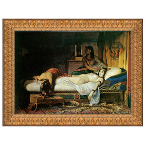 17X14.5 DEATH OF CLEOPATRA 1874 NR