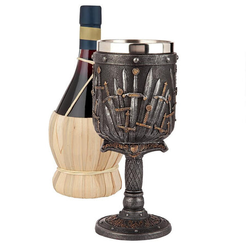 LORD OF SWORDS GOTHIC GOBLET - Gothic Curios
