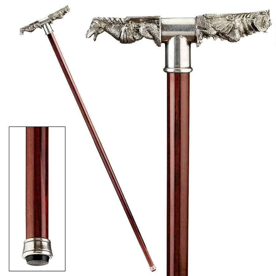 GARGOYLE RAINSPOUT WALKING STICK