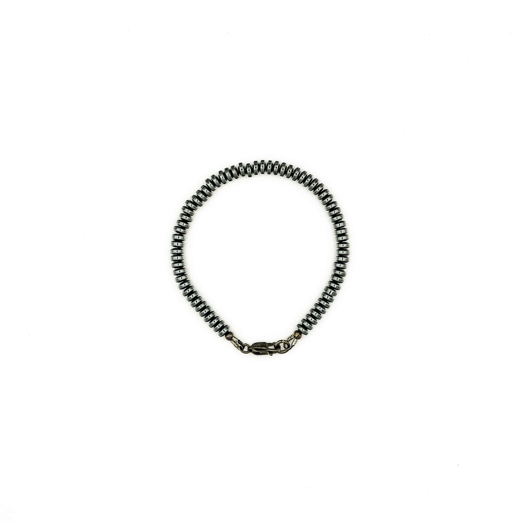 Rib Hematite 04 Bracelet | American Foundation For Suicide Prevention