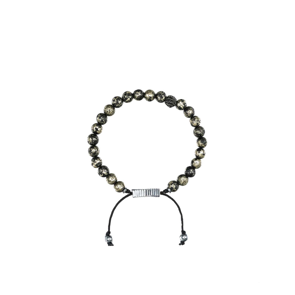 Black Pyrite Bracelet | Ali Forney Center