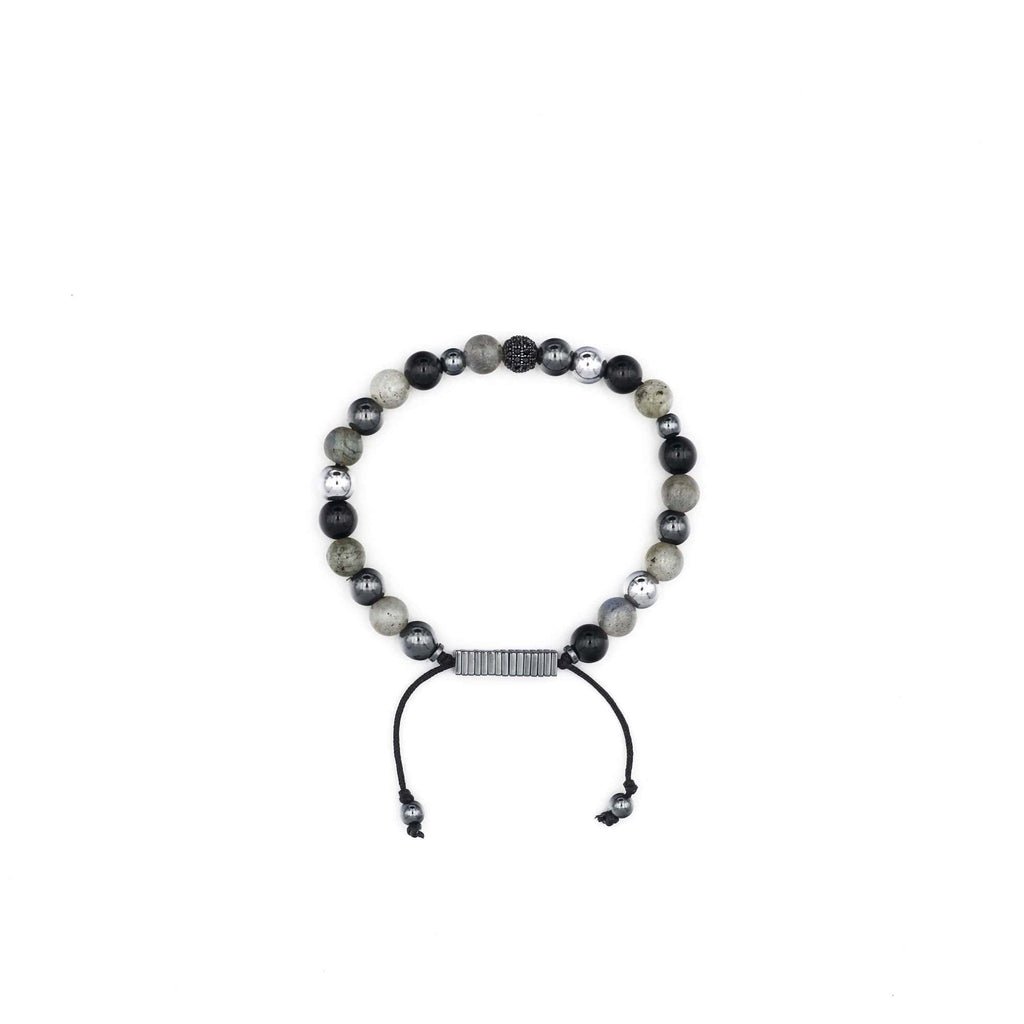 Labradorite, Onyx & Hematite Bracelet | Public Citizens For Children & Youth