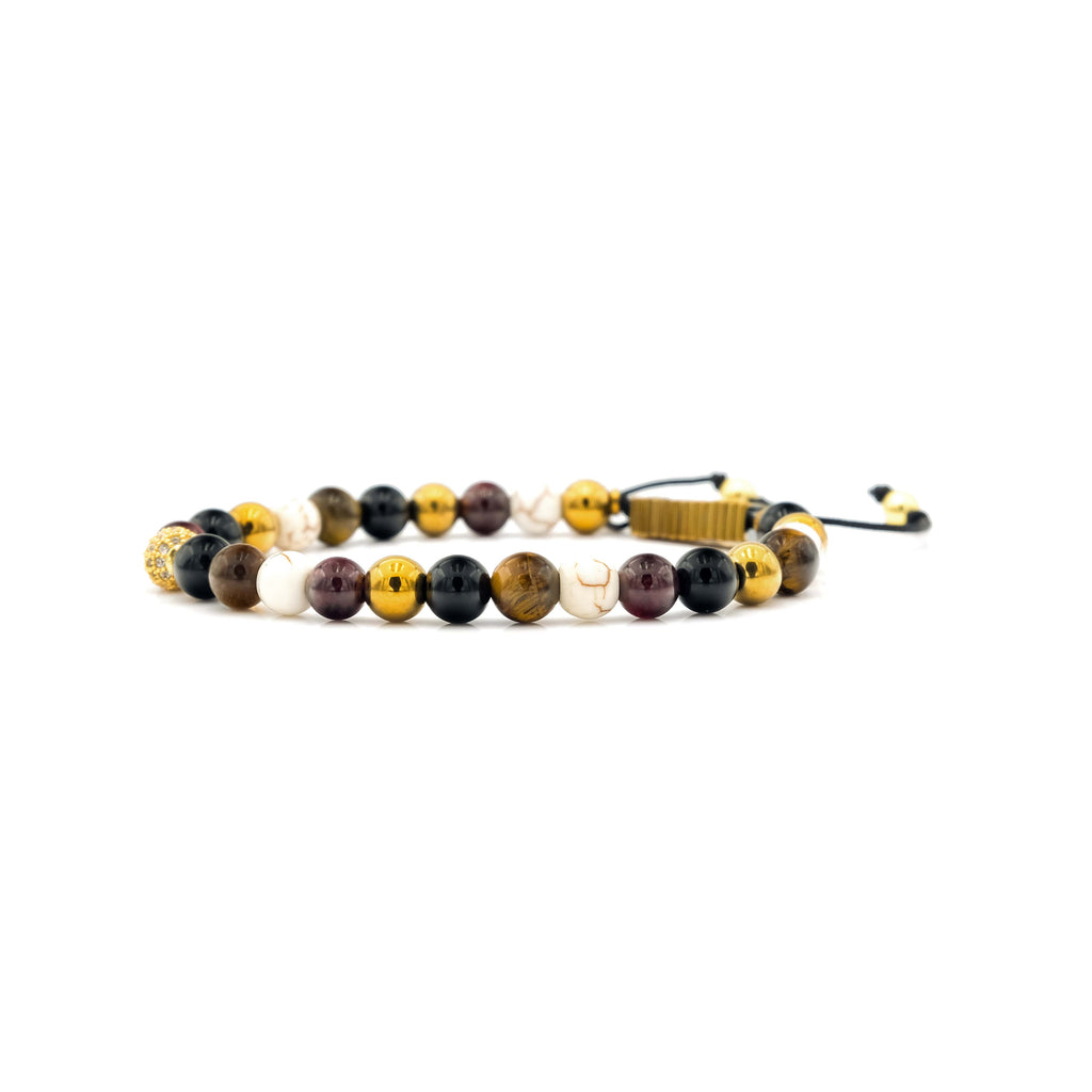 Tourmaline, Tiger Eye, Howlite & Garnet Bracelet | Sierra Club Foundation