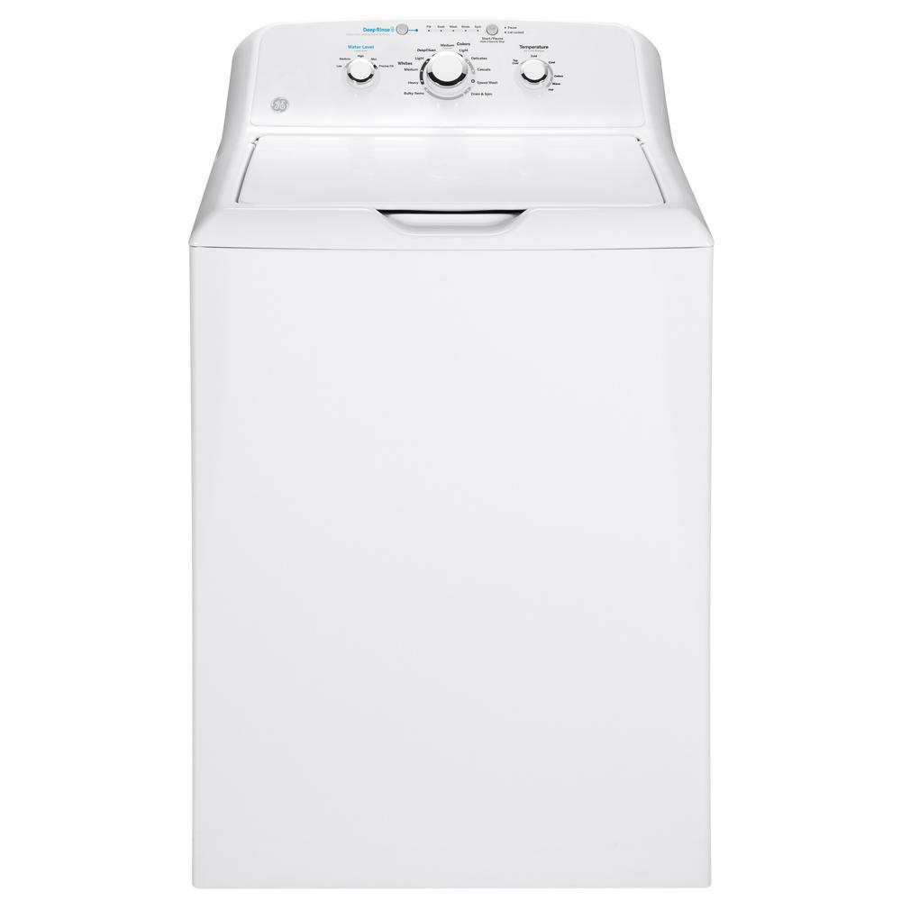 GE Topload 4.2 Cu Ft Washer and 6.2 Cu Ft Dryer Set With Agitator In Electric