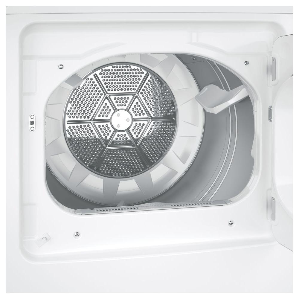 GE 7.2 cu. ft. 240 Volt White Electric Vented Dryer Model GTD45EASJWS
