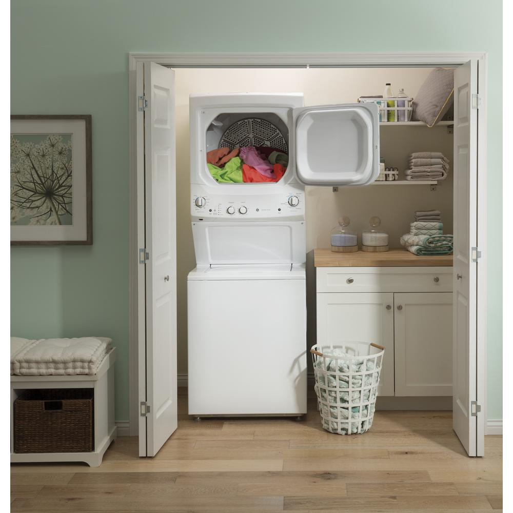 GE Laundry Center 3.8 cu. ft. Washer and 5.9 cu. ft. 240-Volt Vented Electric Dryer