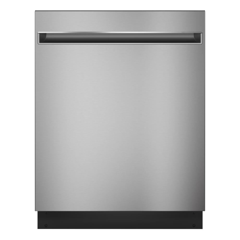 GE 24 in. Top Control Dishwasher in Stainless Steel with Stainless Steel Tub Model GDT225SSLSS