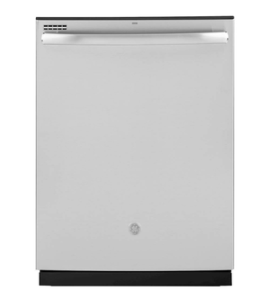 GE 24 in. Top Control Built-In Tall Tub Dishwasher in Stainless Steel with Steam Prewash, 50 dBA Model GDT605PSMSS