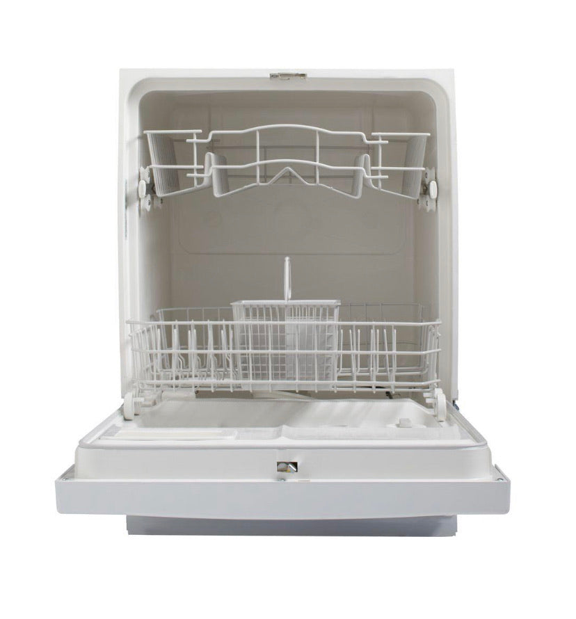 GE Front Control Dishwasher in White, 64 dBA model Gsd2100vww