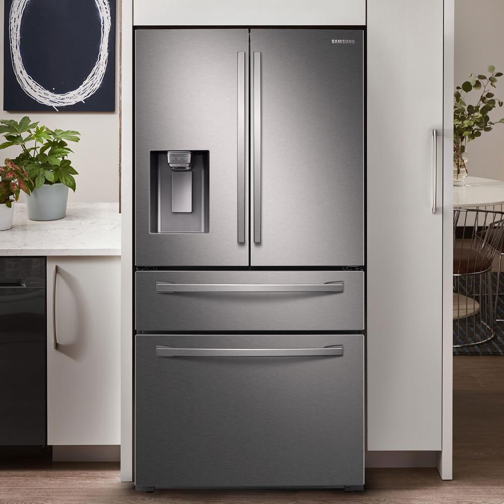 Samsung 23 cu. ft. 4-Door RefrigeratorCounter Depth (RF24R7201SR)