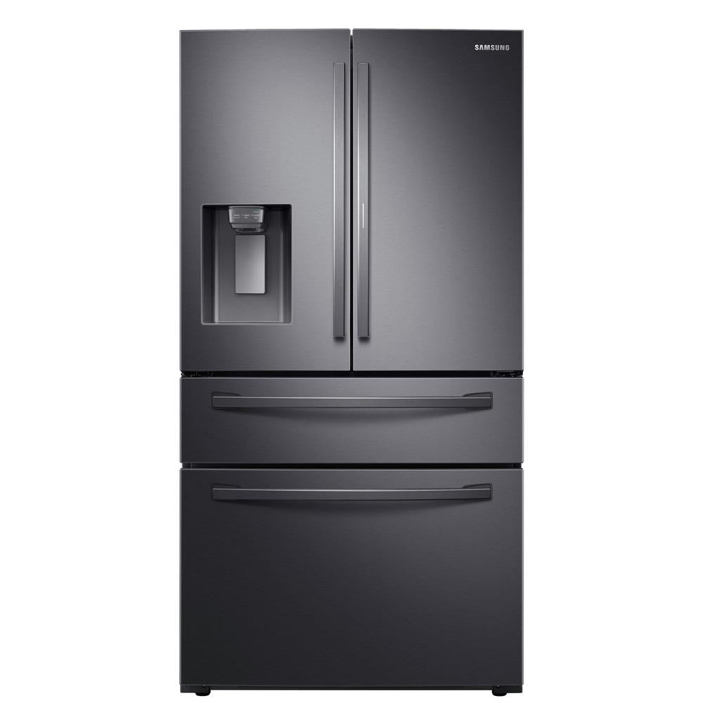 Samsung 27.8 cu. ft. Food Showcase 4-Door Refrigerator (RF28R7351SG)