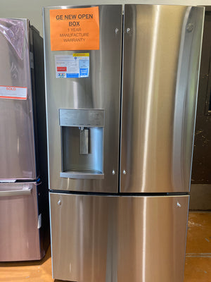 GE 27.7 cu. ft. French Door Refrigerator in Fingerprint Resistant Stainless Steel, ENERGY STAR