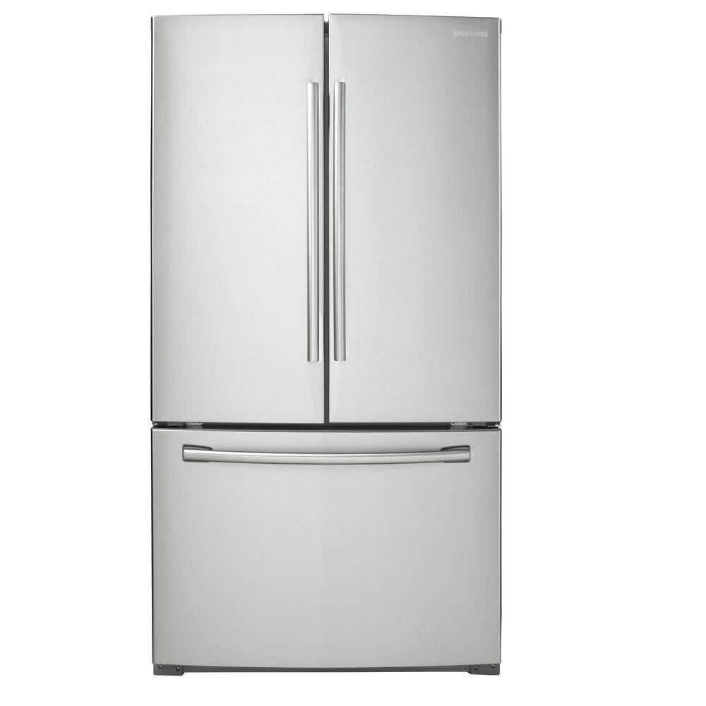 Samsung 25.5 cu. ft. French Door Refrigerator in Stainless Steel (RF260BEAESR)