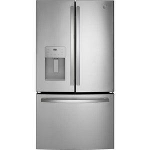 GE 25.6 cu. ft. French Door Refrigerator in Fingerprint Resistant Stainless Steel