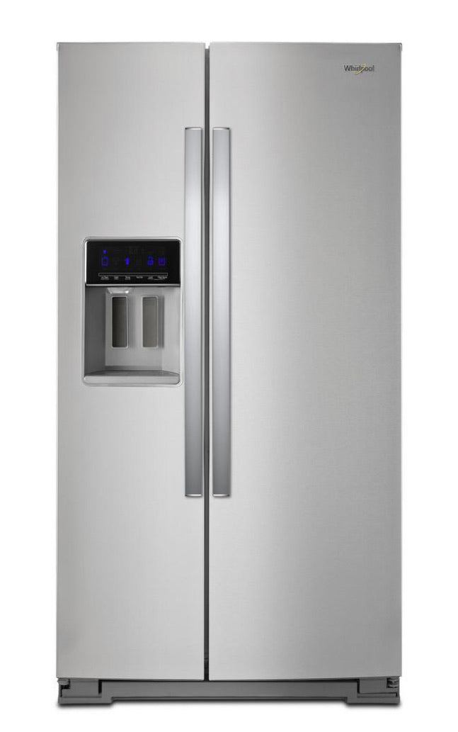 Whirlpool 26. cu. ft. Side by Side Refrigerator Model #WRS58F1H200