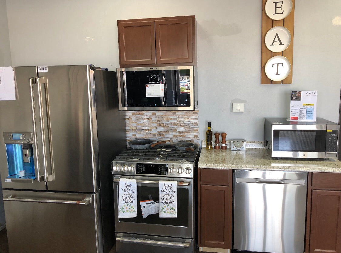 GE Cafe Stainless Steel Kitchen Package