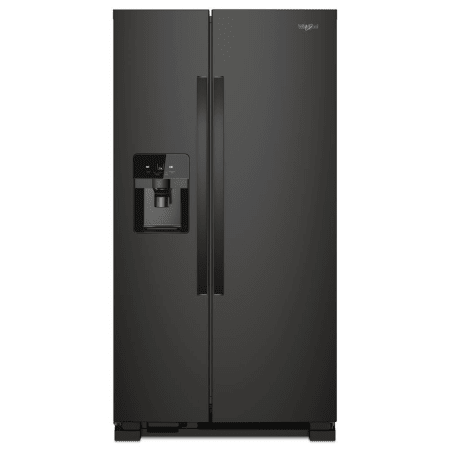 Whirlpool 25 Cu. ft. Side By Side Refrigerator In Black (WRS588FIHV00)