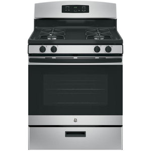GE 30 in. Gas Range in Silver Model JGBS60GEKSA