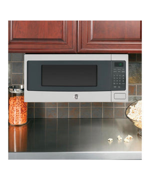 GE Profile 1.1 cu. ft. Countertop Microwave in Stainless Steel with Sensor Cooking/ built in or counter top Model PEM31SFSS