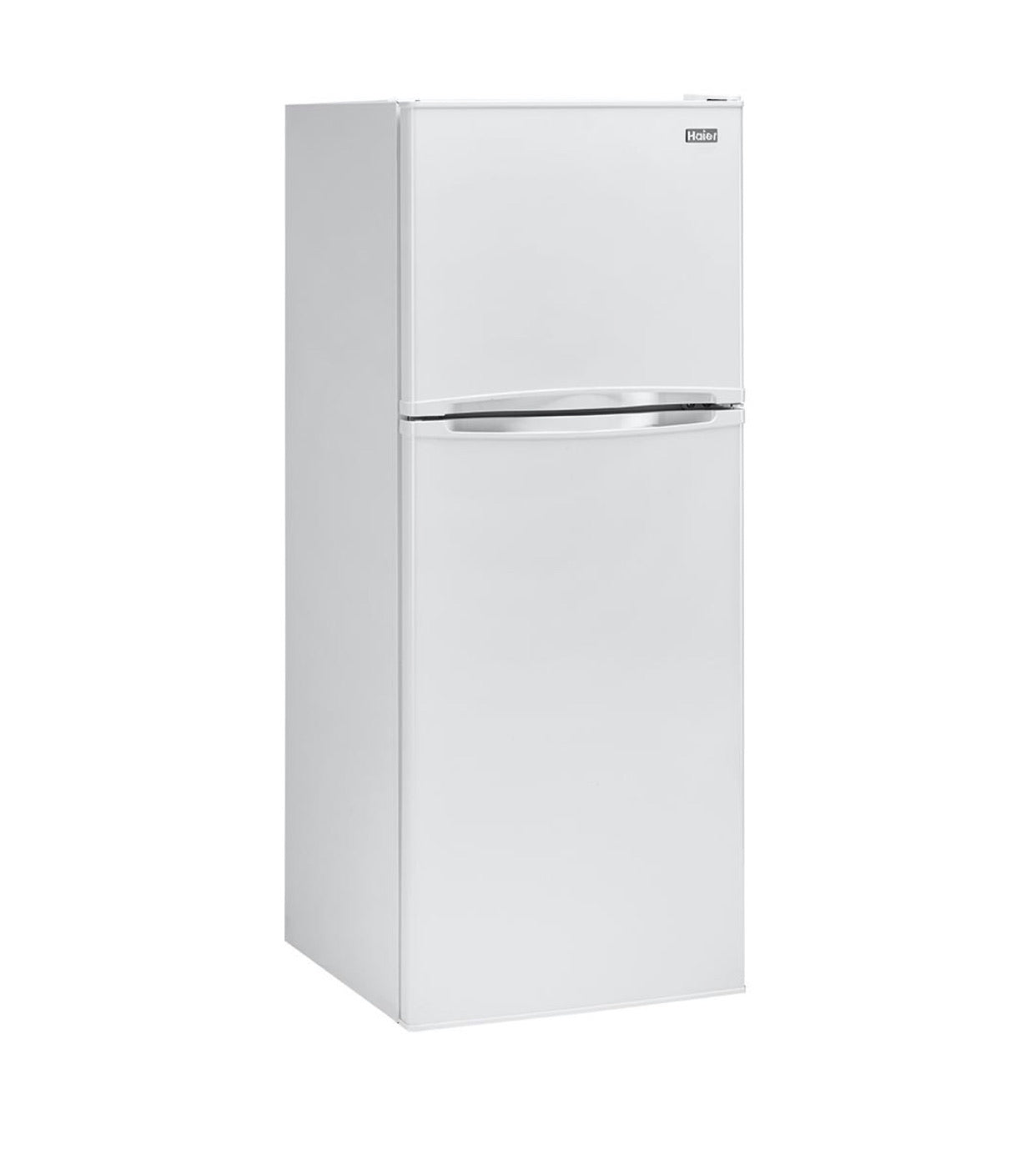 Haier 9.8 cu. ft. Top Freezer Refrigerator in White model HA10TG21SW